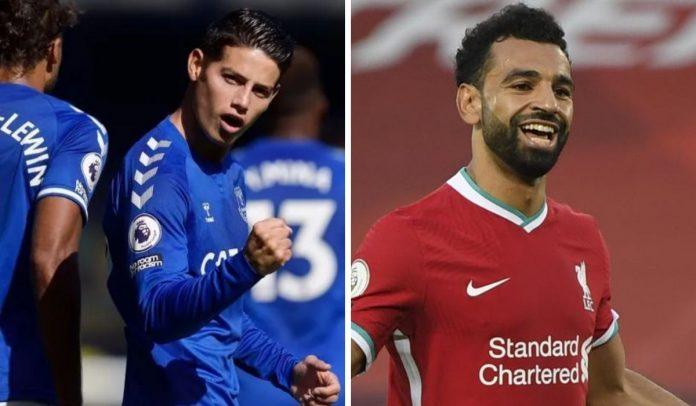 Hora y canal del partido Everton vs Liverpool