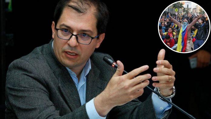 Fiscal Barbosa asegura que las protestas sociales son terrorismo urbano