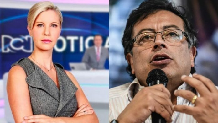 Gustavo Petro dice que Uribismo y RCN son lo mismo