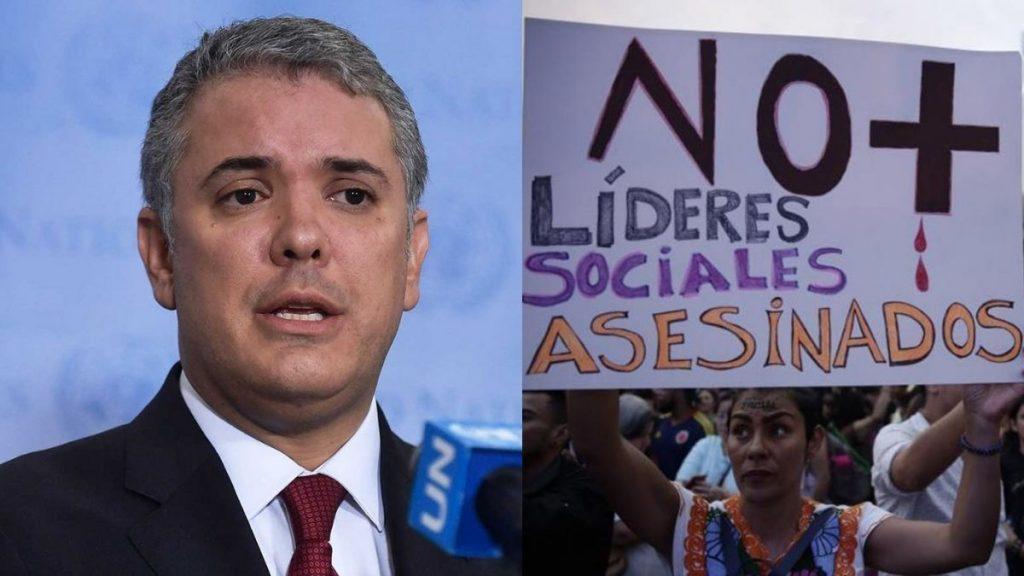 Iván Duque ocupado para asistir a diálogo con el Congreso sobre seguridad de líderes sociales