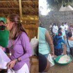 La vicepresidenta Marta Lucía Ramírez no utiliza mascarilla y ahora tiene COVID-19