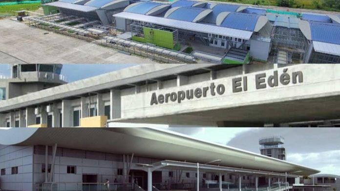 Obras de algunas terminales aéreas están listas para estrenar