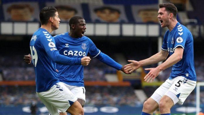 James Rodríguez sumó otra asistencias en el partido del Everton Vs Liverpool