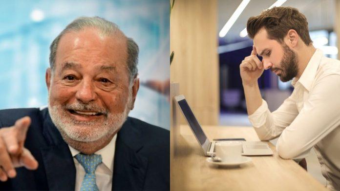 Pensionarse a los 75 años y trabajar 11 horas diarias tres días a la semana la propuesta de Carlos Slim.