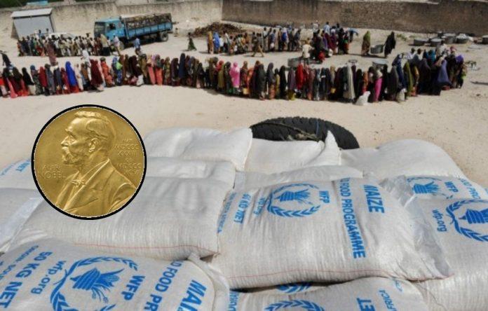 Premio Nobel de Paz a Programa Mundial de Alimentos.