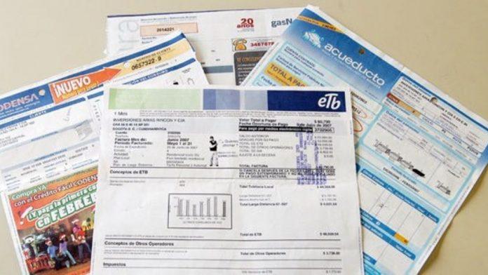 Servicios Públicos facturas
