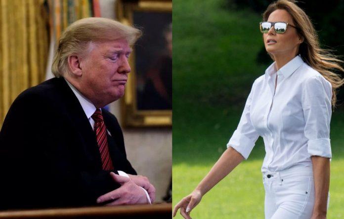 Trump y Melania dan positivo para coronavirus.