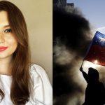 Vanessa Vallejo dice que hubo golpe de Estado en Chile