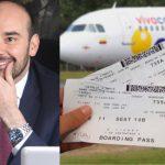 Vuelos aéreos sin IVA Horacio José Serpa