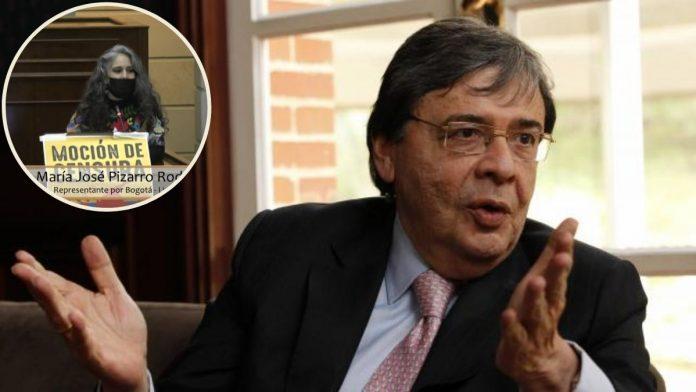 debate de moción de censura de Carlos Holmes Trujillo