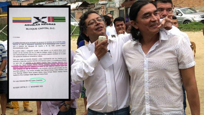 Águilas Negras amenazan a líderes de la Colombia Humana