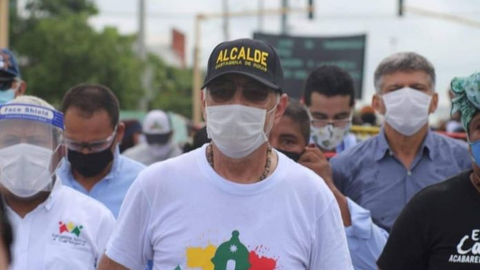 Alcalde de Cartagena William Dau