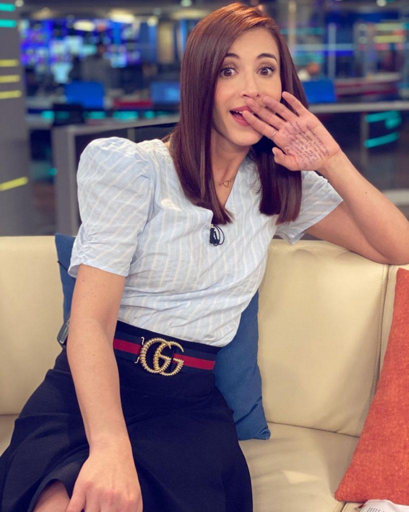 Alejandra Giraldo Noticias Caracol y su machete