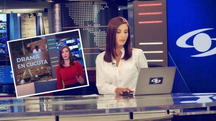 Alejandra Giraldo pillada