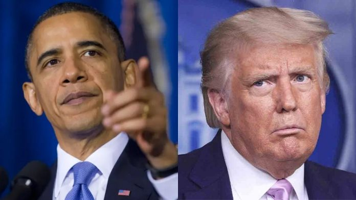 Barack Obama sobre Donald Trump