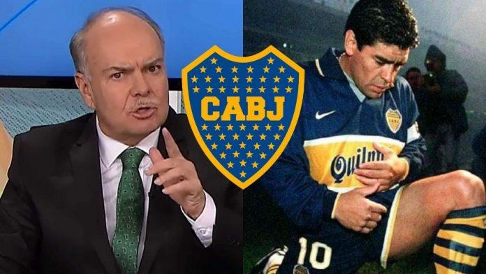 Boca Diego Armando Maradona Iván Mejía