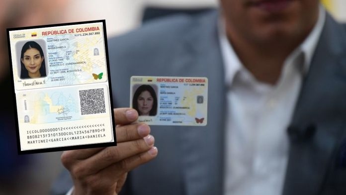 Cédula digital Colombia