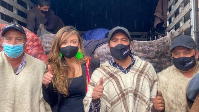 César Pachón y Katherine se la juegan por los campesinos colombianos
