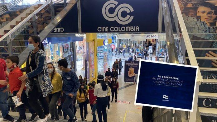 Cine Colombia abre sus cines