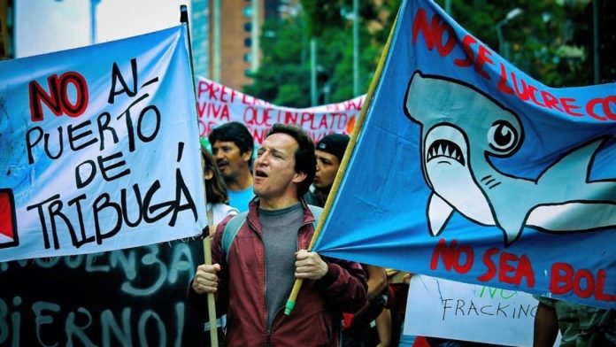Fracking Colombia
