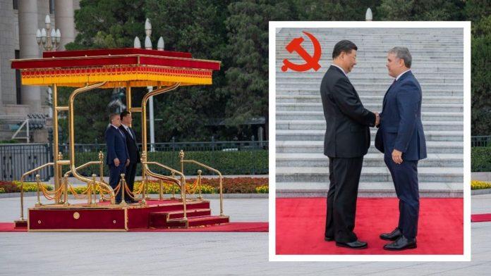 Iván Duque de buenas con el Partido Comunista Chino