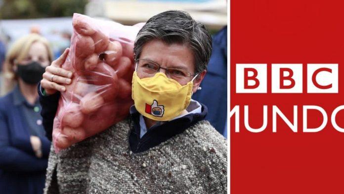 La BBC destaca a Claudia López