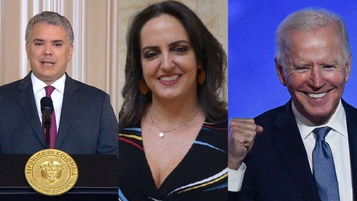 La hipocresía uribistas celebran el triunfo de Joe Biden