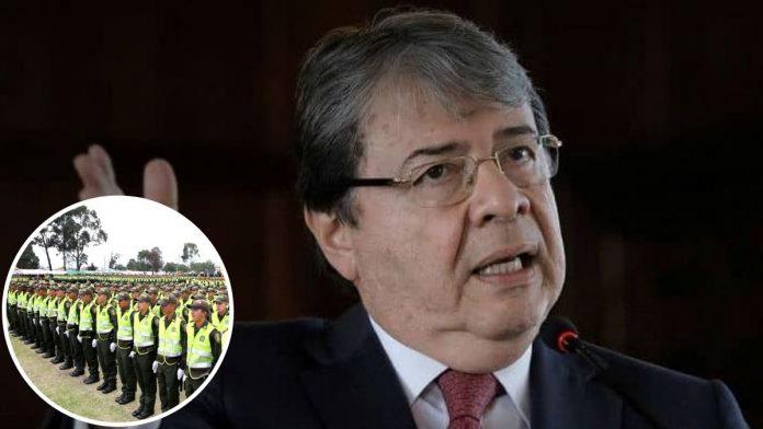 Ministro de Defensa defiende a la Policía