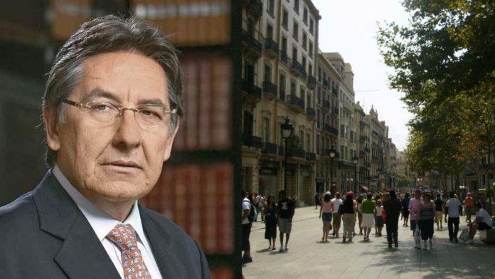Plantón y marchas en España en contra de Néstor Humberto Martínez