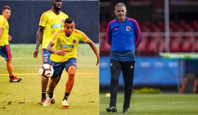 Quieroz convoca a Sebastián Villa para los partidos contra Uruguay y Ecuador