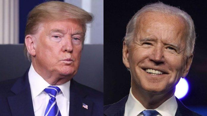 Trump bloquea mensajes de Biden