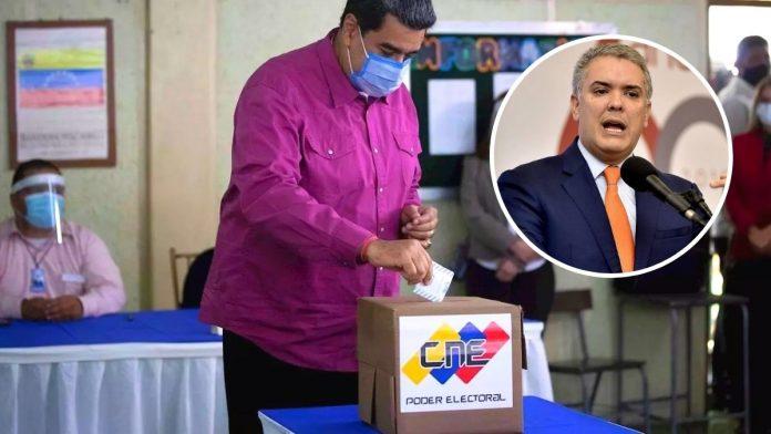 Colombia no reconoce elecciones de Venezuela