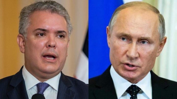 Duque y Putin expulsan diplomáticos