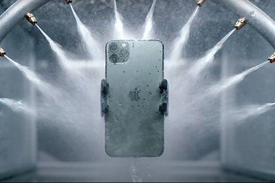 Iphone resistencia al agua