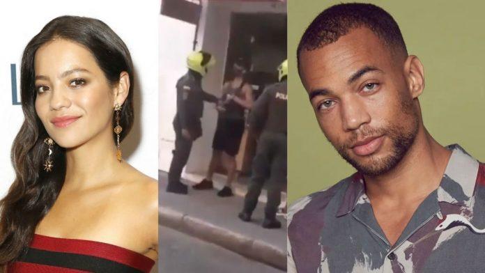 Kendrick Sampson Natalia Reyes abuso policial en Cartagena