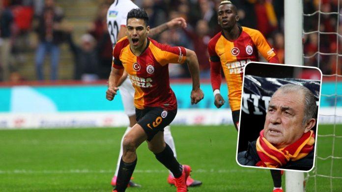 Radamel Falcao Galatasaray entrenador