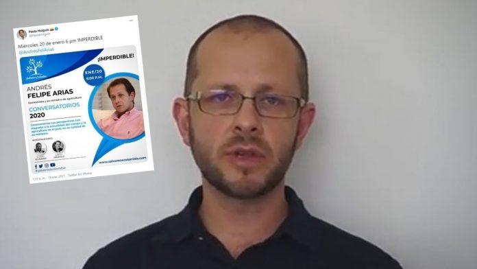 Andrés Felipe Arias Un corrupto que dicta conferencias.