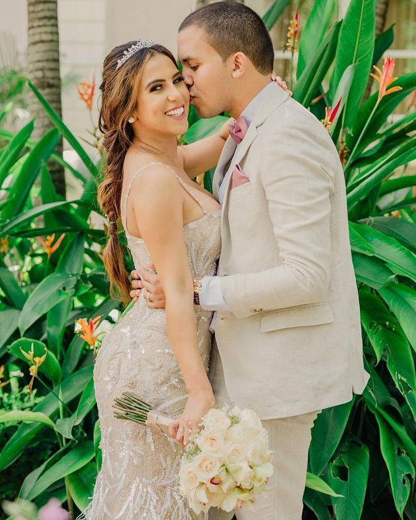 Betsy Liliana se casó recientemente con Evelio Escorcia