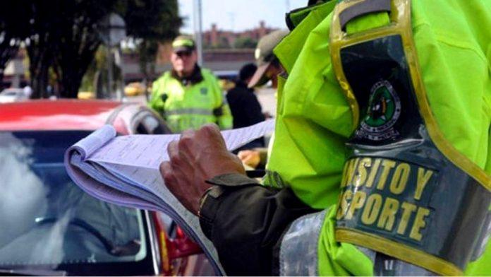 Comparendos y multas en localidades en cuarentena en Bogotá