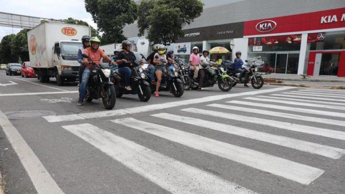 El casco es obligatorio en Colombia