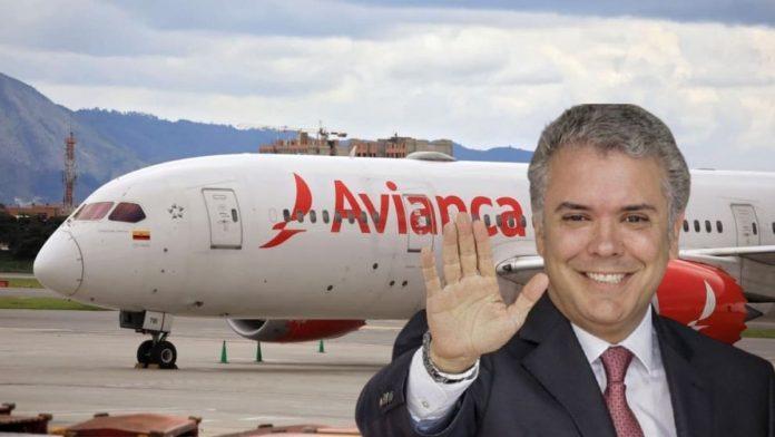 Iván Duque le regala casi 5 mil millones de pesos a Avianca