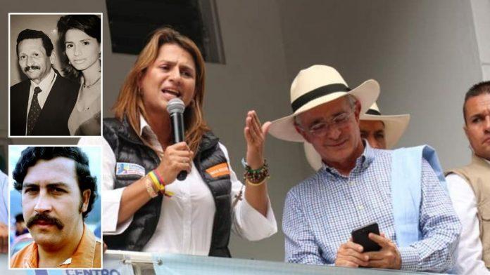 La senadora del Centro Democrático tiene un pasado que lo relaciona con Pablo Escobar