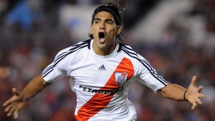 Radamel Falcao River Plate