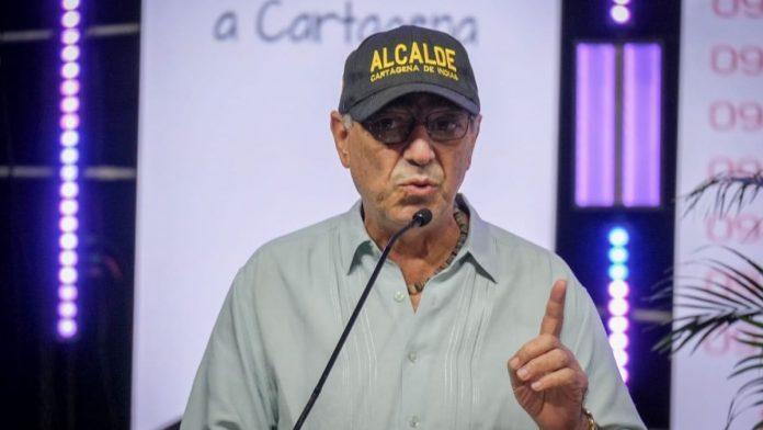 William Dau alcalde de Cartagena