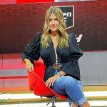 Andrea Guerrero, periodista de ESPN.