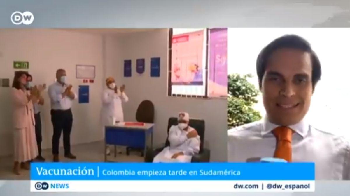 DW reporta ante el mundo la fracasada jornada de vacunación de Colombia