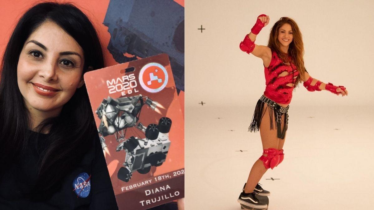 Diana Trujillo Shakira