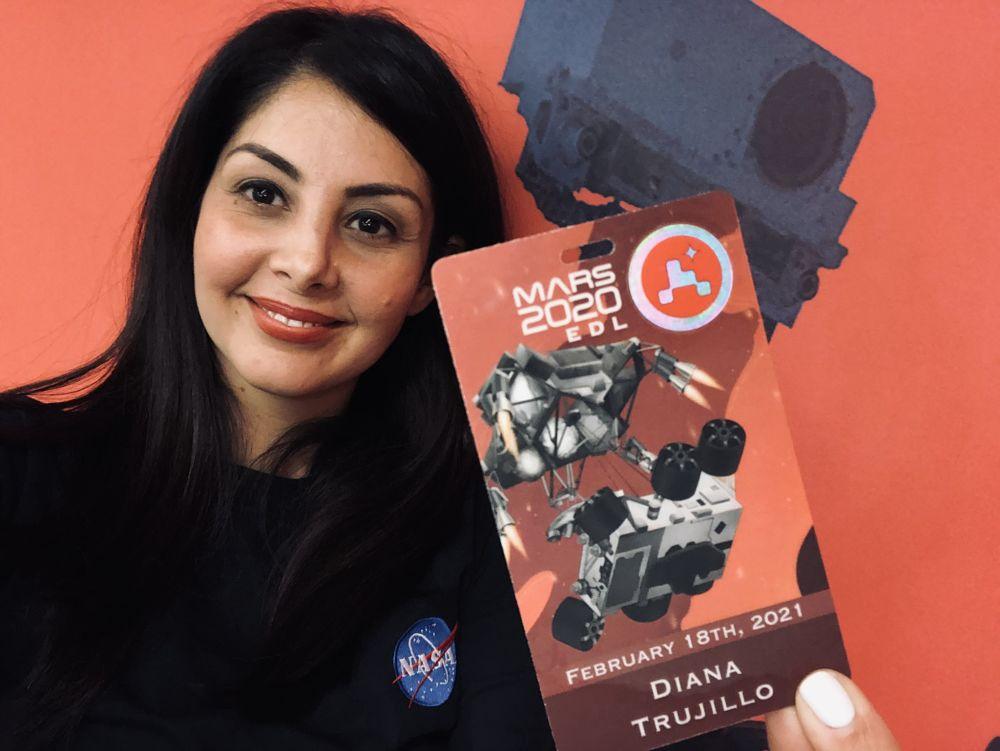 Diana Trujillo presentó la llegada del rover Perseverance a la comunidad de habla en Español