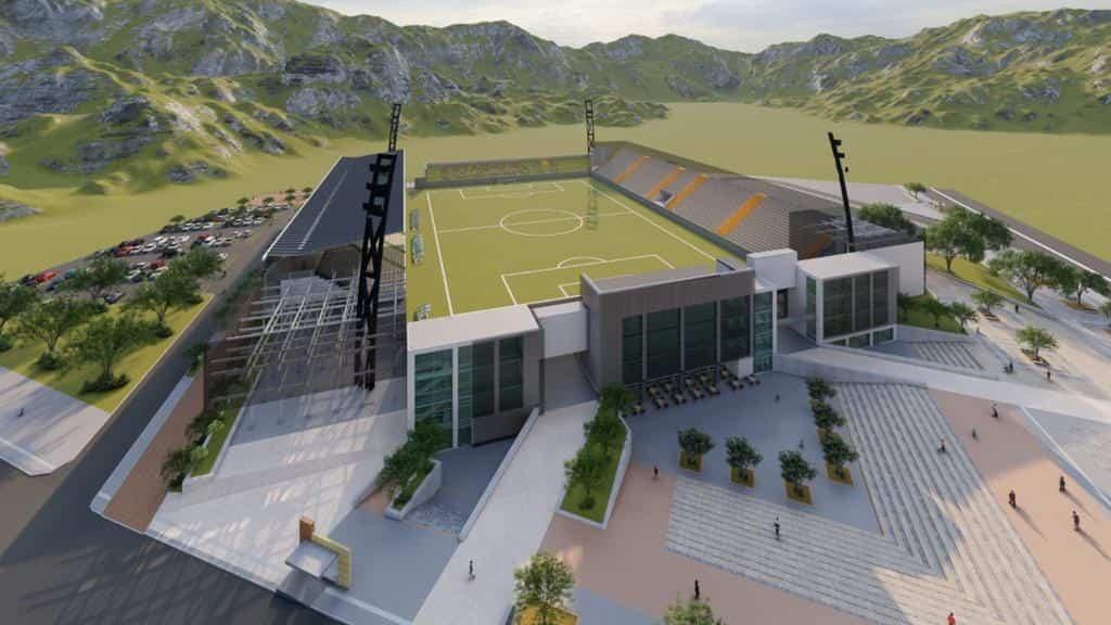 El escenario deportivo tendría una capacidad para más de 10.000 espectadores.
