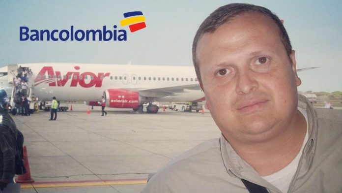 Giovanni Suárez denunció a Bancolombia